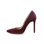 High Heels Shoes Marsala Mistress - Burgundy Suede - Size 39