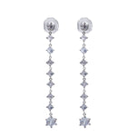 MeMe London Josette Earrings - White Gold