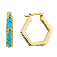 MeMe London Layla Earrings - Gold