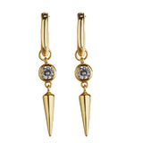 MeMe London 'London' Earrings - Gold