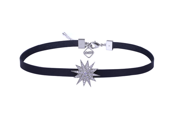 MeMe London Lulu Choker - White Gold