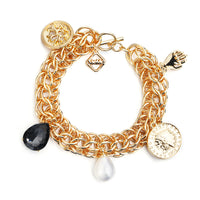 MeMe London Lucky Charm bracelet gold