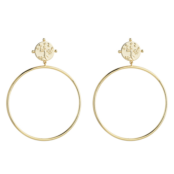 MeMe London Mila Earrings - Gold