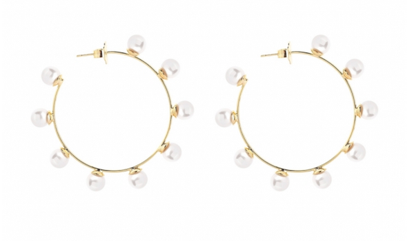 MeMe London Pearly Halo Earrings