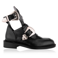 Ganor Dominic - Hades Black Buckle Shoes