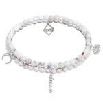 MeMe London Sweet Dreams Bracelet in white gold