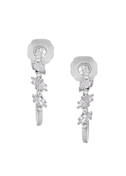 MeMe London Assisi Earrings White Gold