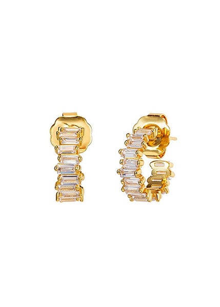MeMe London Bahia Earrings Gold
