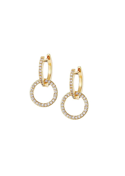 MeMe London Paola Earrings Gold