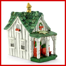 Fairy Garden  Micro Christmas Cottage Fairy House - Fairy Garden Fun
