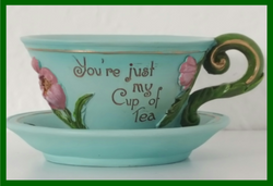 Fairy Garden  Tea Cup Planter You're Just My Cup Of Tea - Fairy Garden Fun