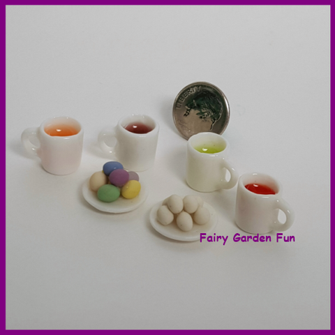Fairy Garden  Easter Egg Coloring Dying Set A86 - Fairy Garden Fun