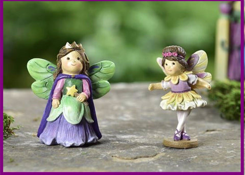 Fairy Garden  Fairytale Ballerina And Princess Set  GC329 - Fairy Garden Fun