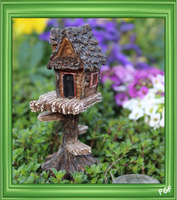 Fairy Garden  Itty Bitty Micro Club House  1197 - Fairy Garden Fun
