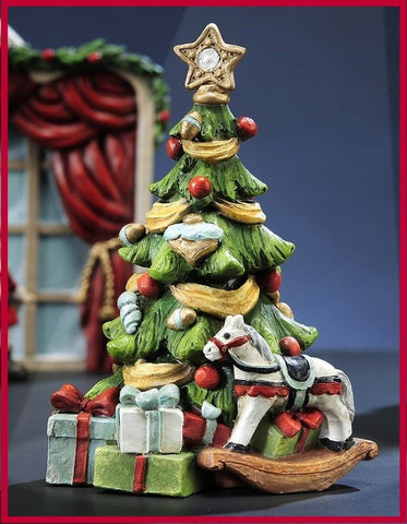 Fairy Garden  Nutcracker Christmas Tree  GC379 - Fairy Garden Fun