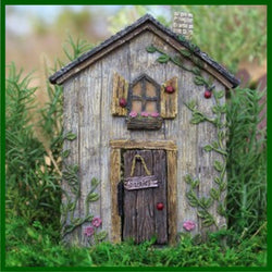 Fairy Garden  Ladybug Fairy Door    WFG312 - Fairy Garden Fun