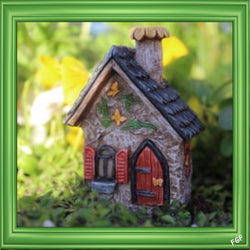Fairy Garden  Itty Bitty Butterfly House 1196 - Fairy Garden Fun