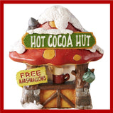 Fairy Garden  Hot Cocoa Hut  GC699 - Fairy Garden Fun