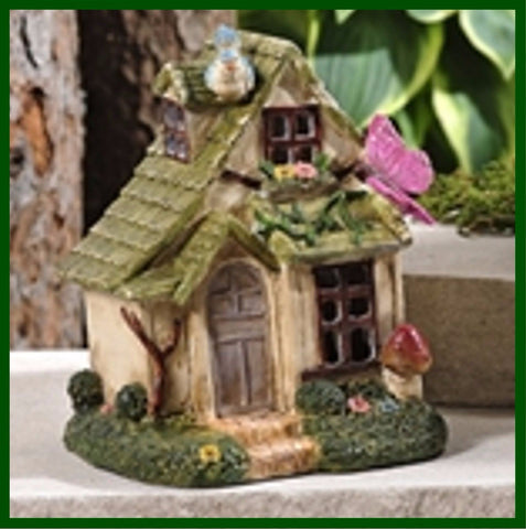 Fairy Garden  Fairytale Woodland Fairy House Butterfly Bungalow - Fairy Garden Fun