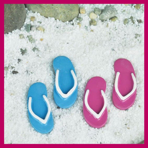 Fairy Garden  Flip Flops Set of 2 - Fairy Garden Fun