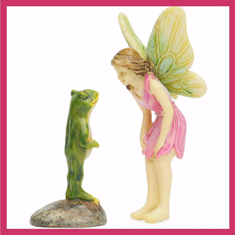 Fairy Garden  Are You Really A Prince? - Fairy Garden Fun