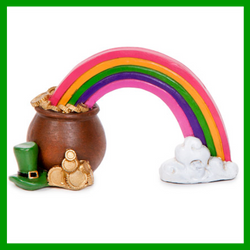 Luck Of The Irish Rainbow & Pot Of Gold D869