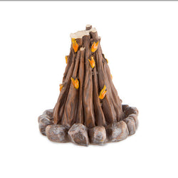 Fairy Garden  Mini Bonfire Campfire D3379 - Fairy Garden Fun