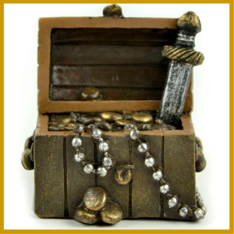 Treasure Chest For Pirates and Mermaids