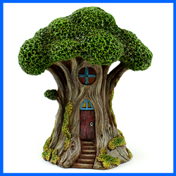 Tree House LED Lighted  Fairy House