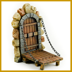 Fairy Garden  Draw Bridge - Fairy Garden Fun