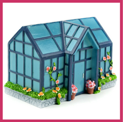 Fairy Garden  Green House Fairy House - Fairy Garden Fun