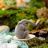 Fairy Garden  Elephant Reading A Book 4564 - Fairy Garden Fun