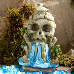 Fairy Garden  Peter Pan Neverland Skull Waterfall House GC317 - Fairy Garden Fun