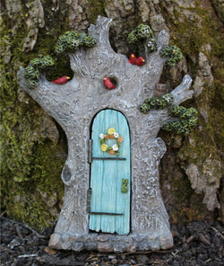 Fairy Garden  Enchanted Fairy Door w/hinged door - Fairy Garden Fun