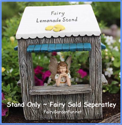Fairy Garden  Lemonade Stand - Fairy Garden Fun