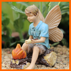 Fairy Garden  Campfire Fun Boy Fairy - Fairy Garden Fun