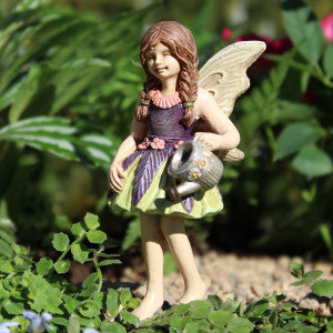 Fairy Garden  Fairy Emma with Watering Can 055 - Fairy Garden Fun