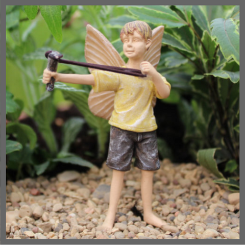 Matthew Boy Fairy with Sling Shot