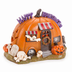 Fairy Garden  Halloween Camper - Fairy Garden Fun