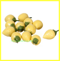 Fairy Garden  Miniature Lemons 12 piece A0243 - Fairy Garden Fun