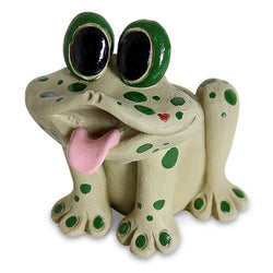 "Fairy Garden  Frog Planter 6"" Pence - Fairy Garden Fun"