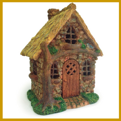 Fairy Garden  English Tree Cottage - Fairy Garden Fun