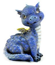 Fairy Garden  Baby Dragon Blue - Fairy Garden Fun