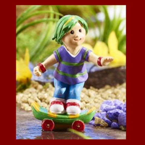 Fairy Garden  Candy Carnival Skateboard  Kid     951 - Fairy Garden Fun