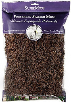 Fairy Garden  Spanish Moss  2 oz. Bag ~ Coffee - Fairy Garden Fun
