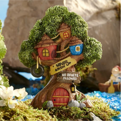 Fairy Garden  Peter Pan Neverland Tree House Lost Boy Hide Out GC318 - Fairy Garden Fun
