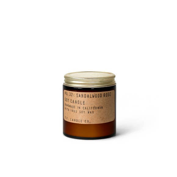 Sandalwood + Rose Mini Candle