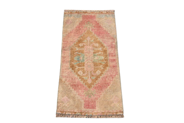 Mini Turkish Rug 1.5 x 2.9 ft