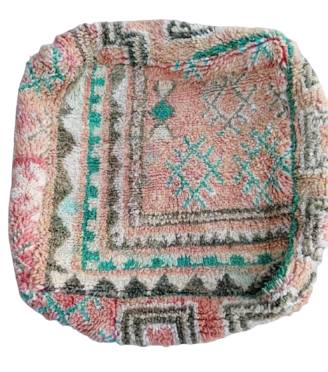 Vintage Moroccan Floor Pillow