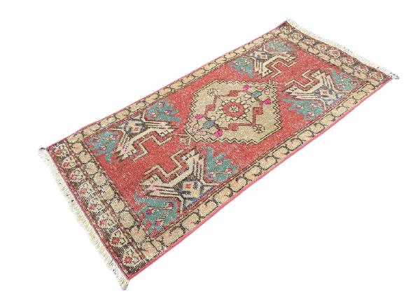 Mini Turkish Rug 1.5 x 3.4 ft